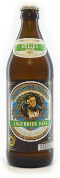 Augustiner Lagerbier Hell ... 1x 0,5 Ltr.